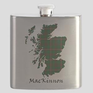 Map-MacKinnon hunting Flask