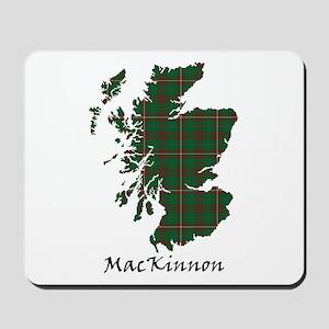 Map-MacKinnon hunting Mousepad