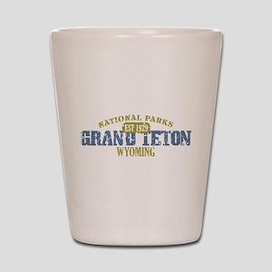 Grand Teton National Park Wyo Shot Glass