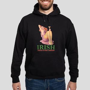 Irish - Proud To Be a Ginger Hoodie (dark)