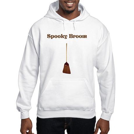 Spooky Broom Hooded Sweatshirt