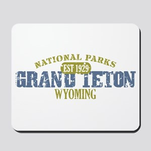 Grand Teton National Park Wyo Mousepad