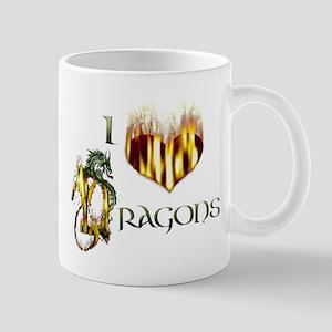I Heart Dragons Mug