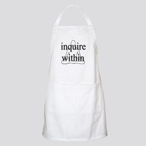 Inquire Within BBQ Apron