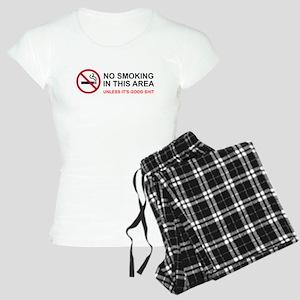No Smoking Unless Good Shit Women's Light Pajamas