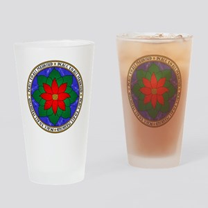 Peace to All Mankind Drinking Glass