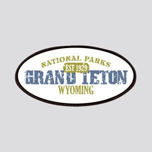 Grand Teton National Park Wyo Patches