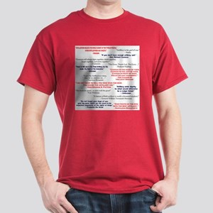 Artillery Quotes Colored T-Shirt
