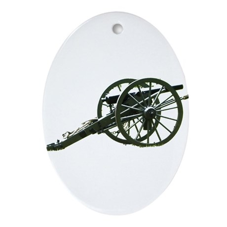 Artillery Lends Dignity Oval Ornament