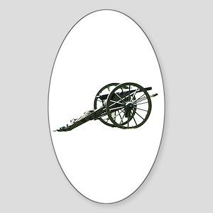Artillery Lends Dignity Oval Sticker