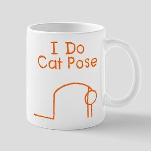 Orange Cat Pose Mug