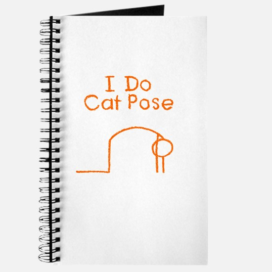 Orange Cat Pose Journal
