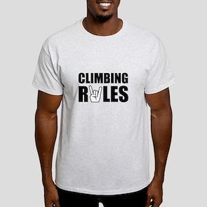 Climbing Rules Light T-Shirt