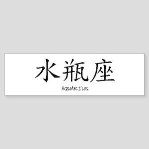 Aquarius Sticker (Bumper)