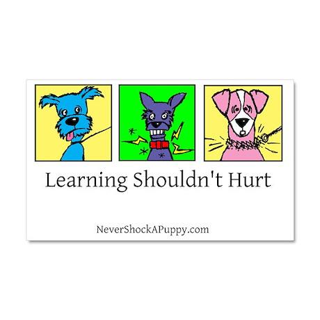 Learning Shouldn't Hurt Car Magnet
