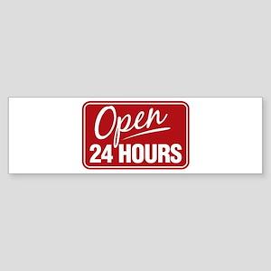 24 Hours... Bumper Sticker