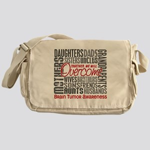 Family Square Brain Tumor Messenger Bag