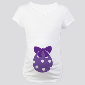 Cute Easter Egg Maternity Tee Shirt