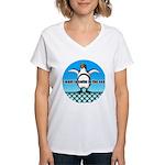 Penguin Women's V-Neck T-Shirt