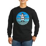 Penguin Long Sleeve Dark T-Shirt