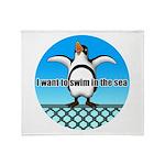 Penguin Throw Blanket