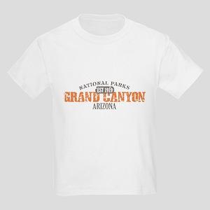 Grand Canyon National Park AZ Kids Light T-Shirt
