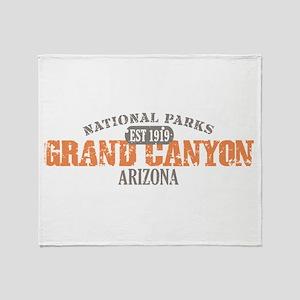 Grand Canyon National Park AZ Throw Blanket