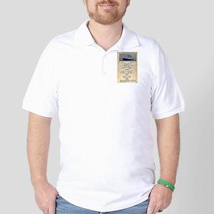 3rd Class Daily Menu Golf Shirt