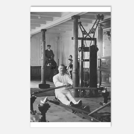 Titanic Gym Postcards (Package of 8)