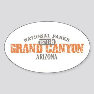 Grand Canyon National Park AZ Sticker (Oval)