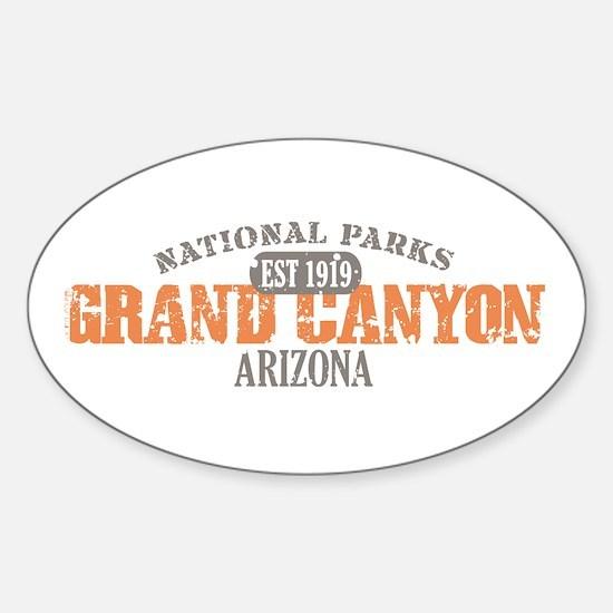 Grand Canyon National Park AZ Sticker (Oval)