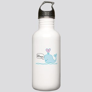 Future Marine Biologist Stainless Water Bottle 1.0
