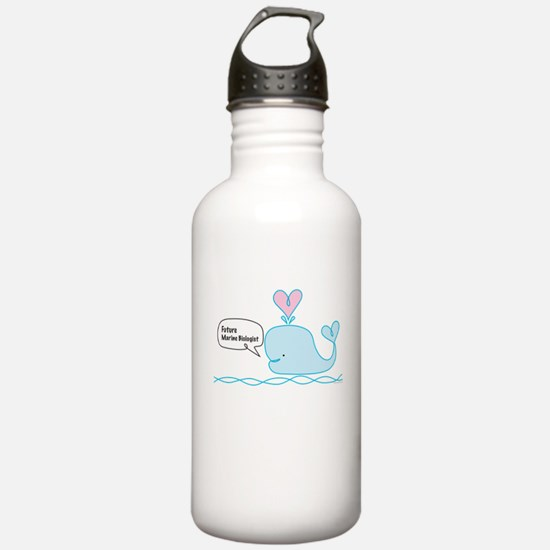 Future Marine Biologist Water Bottle