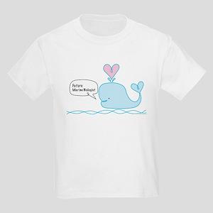 Future Marine Biologist Kids Light T-Shirt