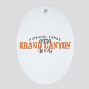 Grand Canyon National Park AZ Ornament (Oval)