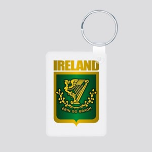 """Irish Gold"" Aluminum Photo Keychain"