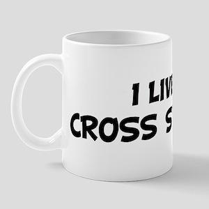 Live For CROSS STITCHING Mug