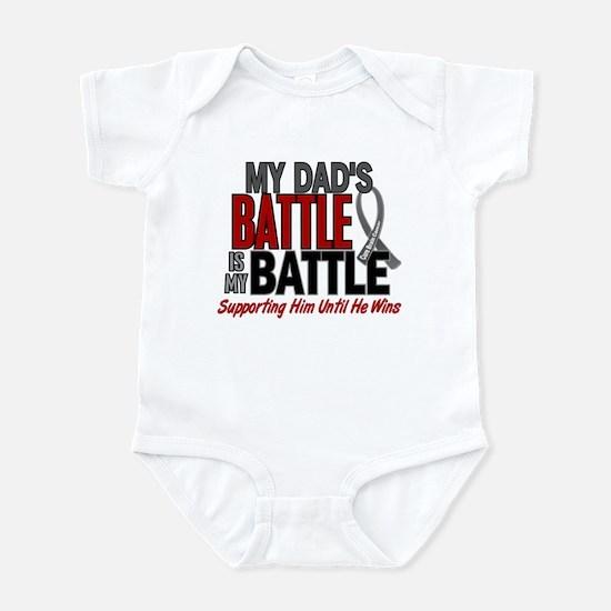 My Battle Too Brain Cancer Infant Bodysuit