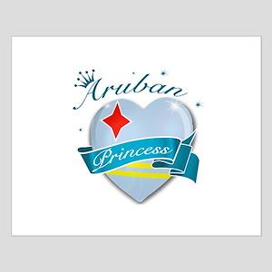 Aruban Princess Small Poster