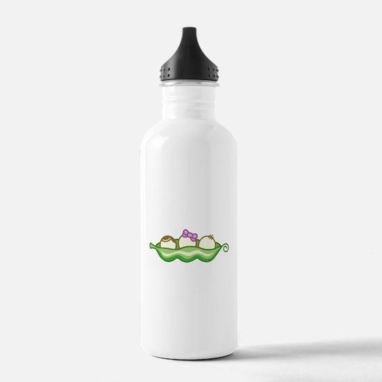Logo Dark Water Bottle