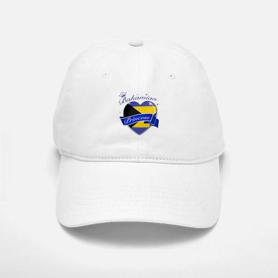 Bahamian Princess Baseball Baseball Cap