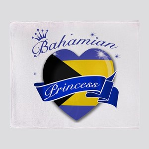 Bahamian Princess Throw Blanket