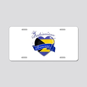 Bahamian Princess Aluminum License Plate