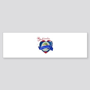 Belizean Princess Sticker (Bumper)