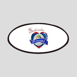 Belizean Princess Patches