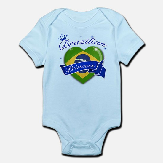 Brazilian Princess Infant Bodysuit