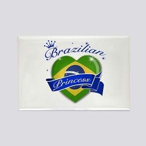 Brazilian Princess Rectangle Magnet