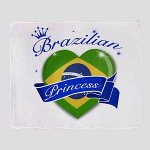 Brazilian Princess Throw Blanket
