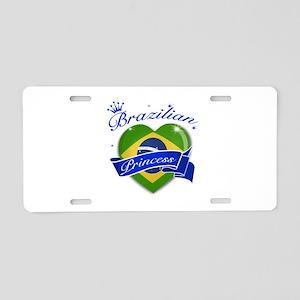 Brazilian Princess Aluminum License Plate