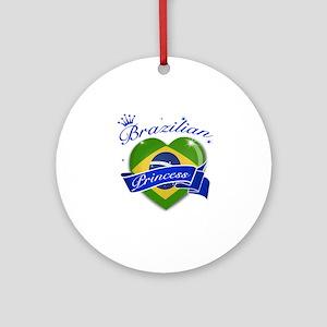 Brazilian Princess Ornament (Round)